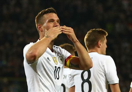 Podolski strike 'f***ing brilliant!'