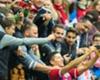 La selfie de Lewandowski y los hinchas