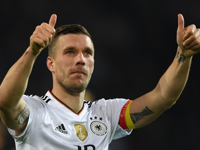 WATCH: Podolski's hammer will be a weapon in the J1 League - Muller