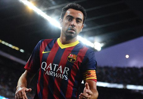 I want to be like Guardiola - Xavi