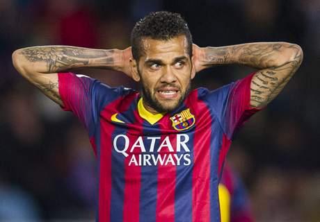 Mercato, rien de fait pour Daniel Alves