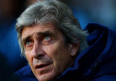 Manchester City, Pellegrini n'est pas inquiet