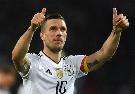 WATCH: Podolski's thunderbolt vs. England