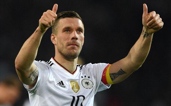 WATCH: Podolski's thunderbolt vs England