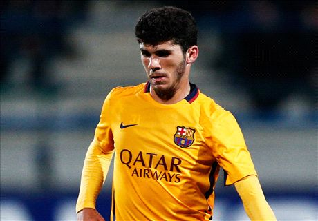The Barca teenager nicknamed 'Maradona'