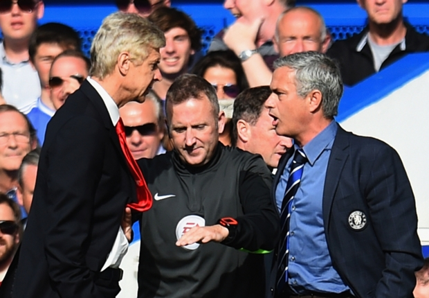 Wenger schooled again by Mourinho but all's not lost for Arsenal