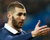 Karim Benzema playing for France in 2015