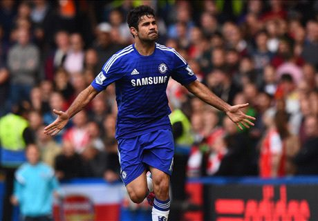 Mourinho: Costa 'has a little chance'