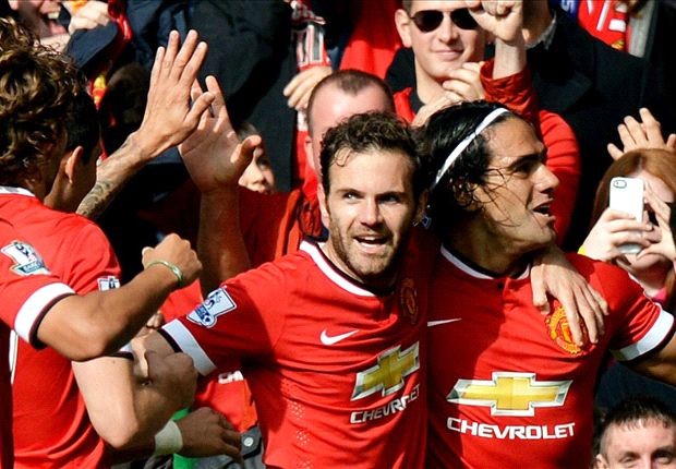Manchester United 2-1 Everton: Falcao poaches three points for Van Gaal