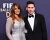 Who is Lionel Messi's girlfriend?