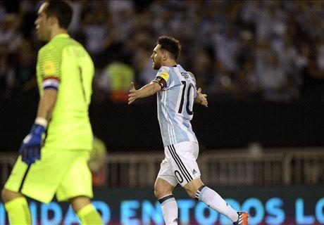 FT: Argentina 1-0 Cile
