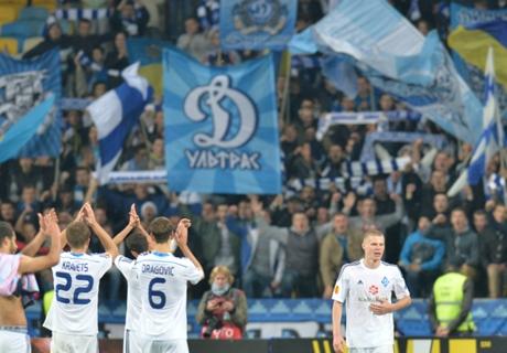 Le Dynamo Kiev mate le Shakhtar