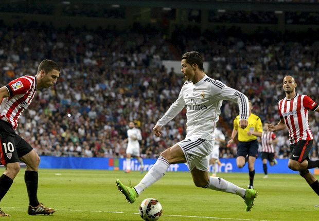 Real Madrid 5-0 Athletic Bilbao: Ronaldo hits third hat-trick in four La Liga games