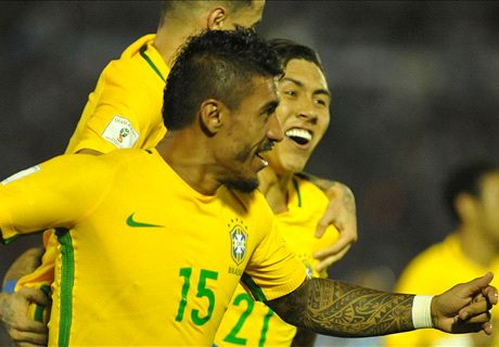Paulinho stepping up for Brazil