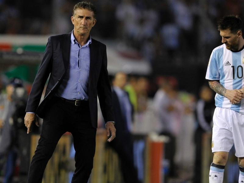 """Argentine, Bauza : """"Je ne pense pas que l'équipe soit dépendante de Messi"""""""
