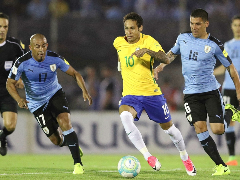 Official: Brazil to face Uruguay in London
