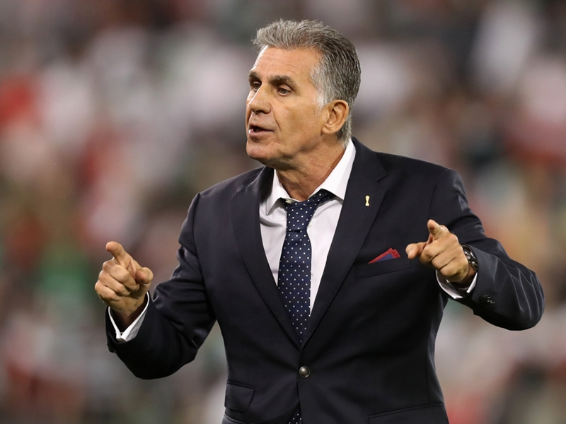 Former Real Madrid coach Queiroz dares Iran to sack him after World Cup draw