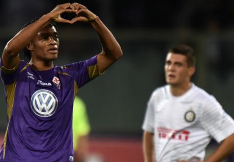 Fiorentina in Cuadrado contract talks