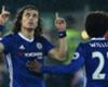 VIDEO: David Luiz schools Chelsea team-mate Willian in free-kick challenge