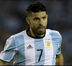 Aguero dropped by depleted Argentina