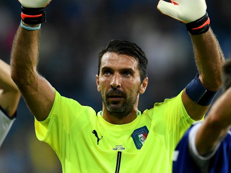 Italie, 1000ème match en professionnel de Buffon