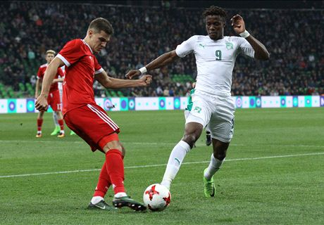 Cote d'Ivoire defeat WC hosts Russia in friendly