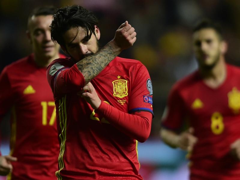 "Real Madrid, Isco : ""Moi je parle sur le terrain"""