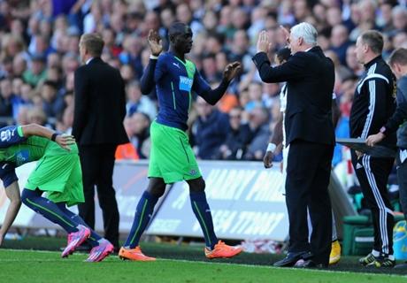 'Cisse Newcastle's only goalscorer'