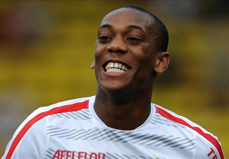 Where will Martial fit in at Man United?