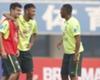 Brasil faz o primeiro treino técnico