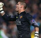 Clubloze Valdés traint mee bij United