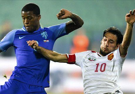 FT: Bulgaria 2-0 Belanda