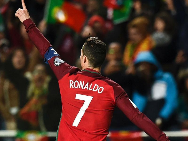 Portugal star Ronaldo moves into top 10 international goalscorers