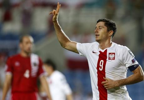 Résumé de match, Géorgie-Pologne (0-4)