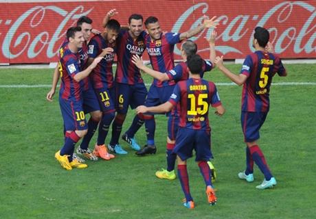 'Barca face La Liga exclusion'