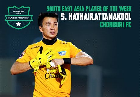 SEA Player of the Week: S. Hathairattanakool