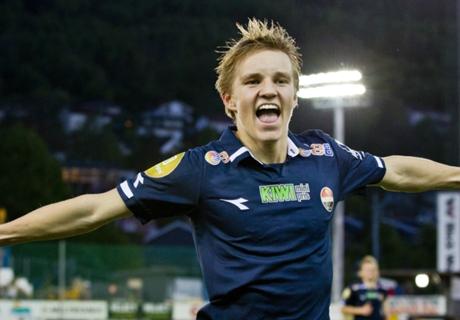 Ödegaard: Jüngster Spieler der EM-Quali