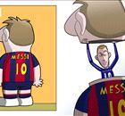 Charge do dia: Hazard - o Messi disfarçado?