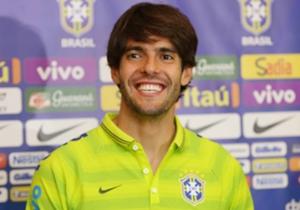 Brazil midfielder Kaka