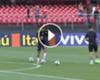 VÍDEO: Neymar y Marcelo, duelo de faltas