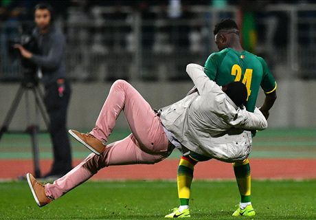 Chaos in Ivory Coast vs. Senegal match