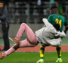 Chaos in Ivory Coast vs Senegal match