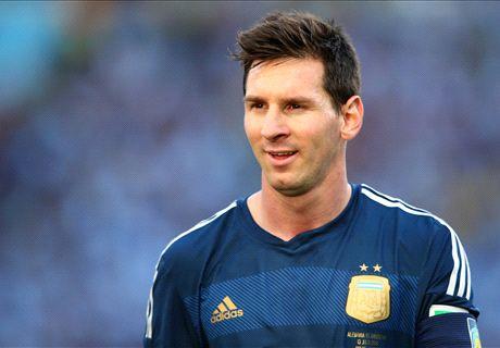 La sombra de Messi