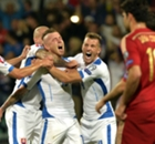 Gallery: Spain stunned in Slovakia