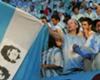 Maradona y Guevara: ídolos nacionales.