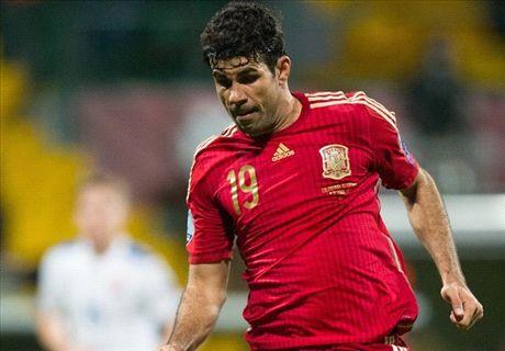 Diego Costa vooralsnog niks waard