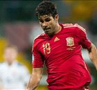 Diego Costa lagging behind Spain greats
