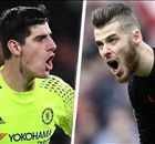 Courtois, not De Gea, is Real Madrid's No.1