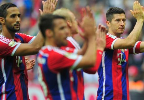 Bayern Munich se quiere escapar en la punta