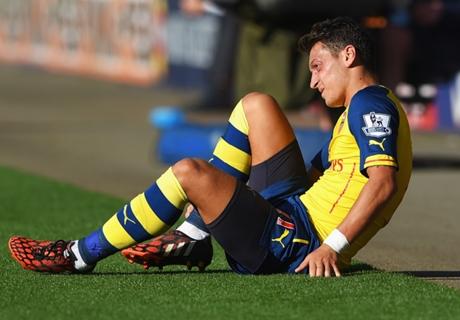 Wenger: Ozil heard his knee crack